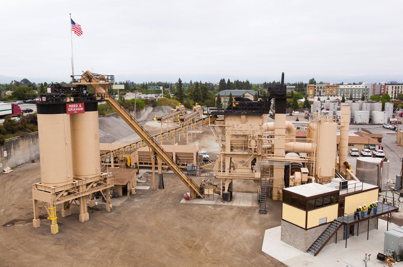 picture-link San Jose Asphalt Plant